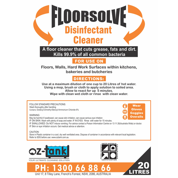 commercial cleaner floor solve