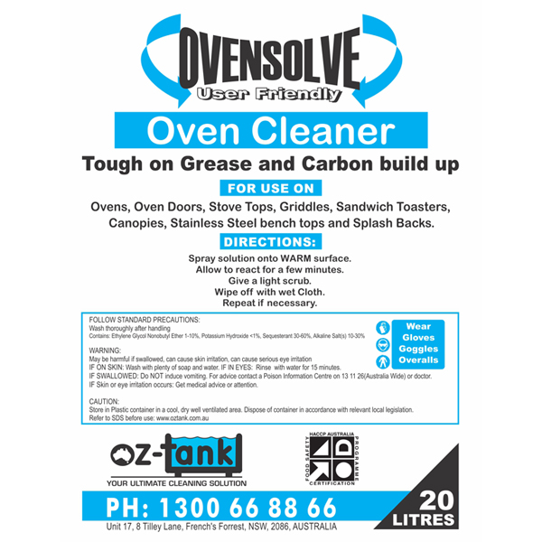 commercial cleaner ovensolve