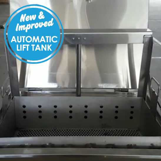 soak tank automatic lift