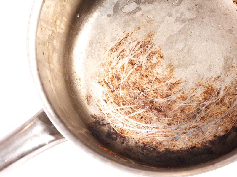 decarbonising soak tank pan cleaner before